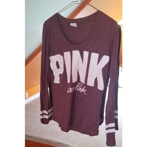 PINK Victoria Secret Long Sleeve Top